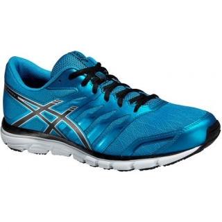 fb779dc2b86 Pánská běžecká obuv ASICS Gel Zaraca 4 T5K3N modrá černá stříbrná empty