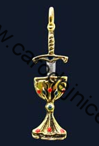 Blade and Chalice - Amulet