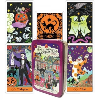 Halloween Tarot in a tin box (eng)